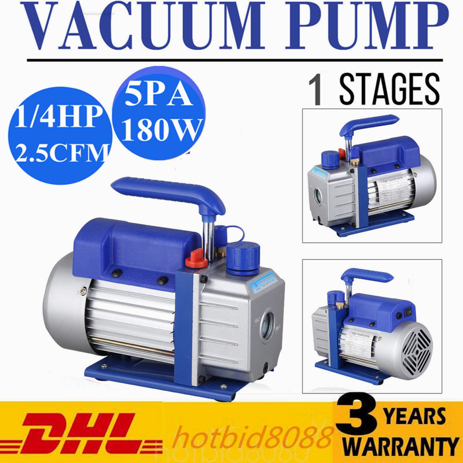 2,5CFM 1 Bistadio 1 4HP Pompa per Vuoto del condizionatore d'aria Refrigeration
