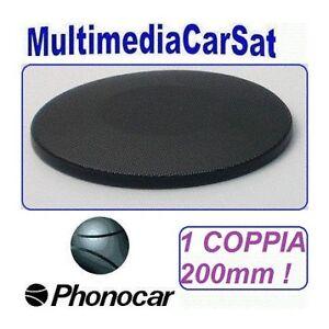 PHONOCAR-5-050-5050-GRIGLIA-ALTOPARLANTE-Casse-200mm-20cm-Solo-Griglie