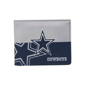Dallas-Cowboy-Mens-Leather-Bi-fold-Wallet-Colorful-NFL-Football-Licensed-Product