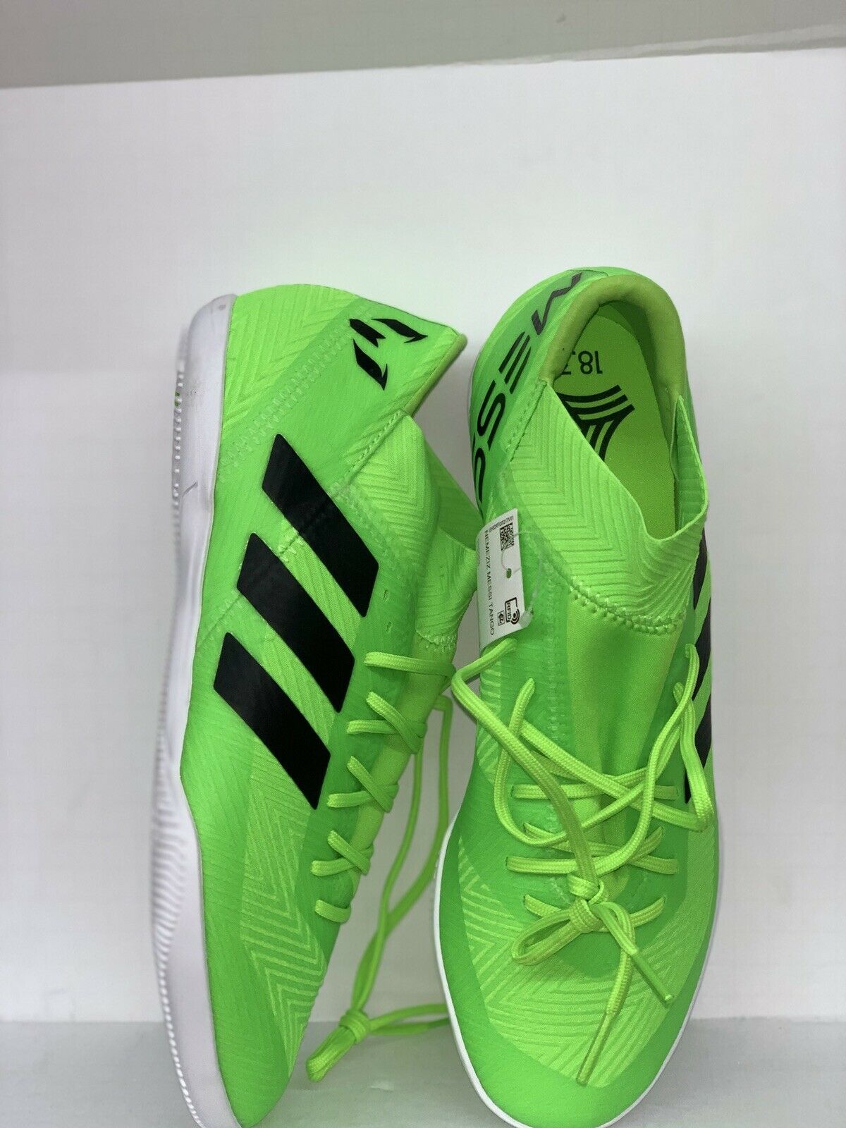 Adidas Nemeziz Messi Tango 18.3 Indoor Soccer shoes AQ0618 New Size 9.5