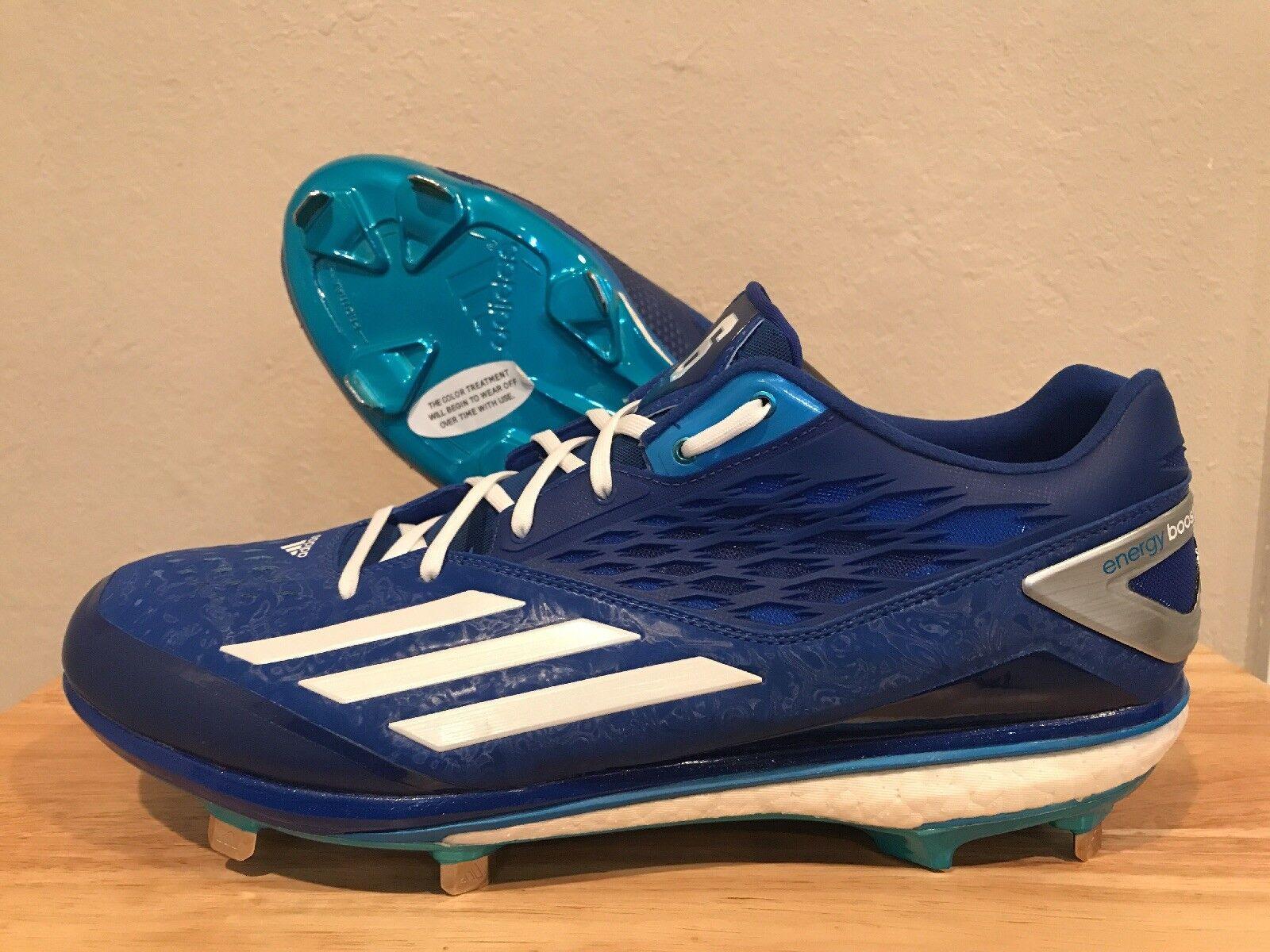 Adidas Energy Boost Icon Lorenzo Cain PE Baseball Cleats bluee Size 13 (AQ8401)