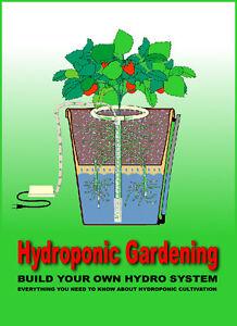 Build Hydroponic Organic Garden Gardening Kit aero aerogarden Book