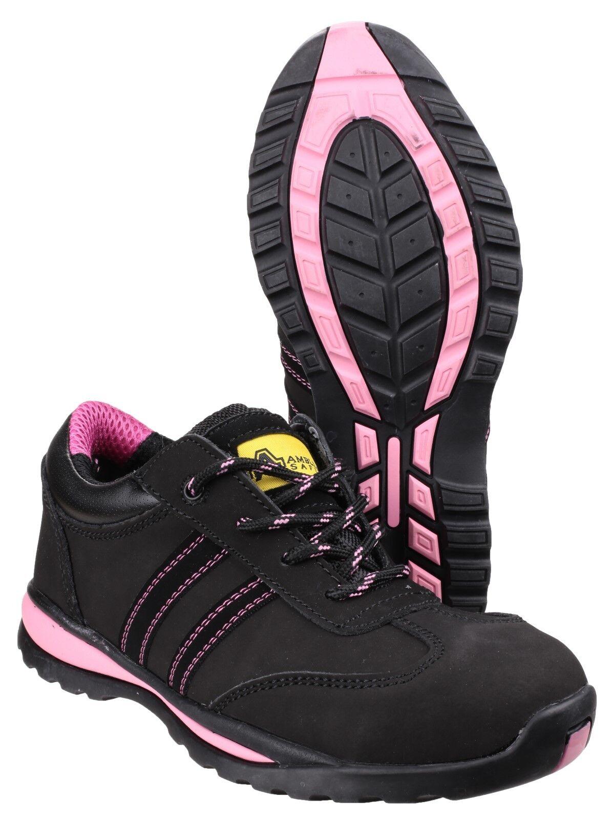Amblers FS47 Seguridad Zapatillas para Zapatos mujer Puntera De Acero Zapatos para De Trabajo Industrial UK3-9 95acb5