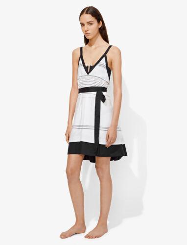 Proenza Schouler Belted Striped Sun Dress NWT $360