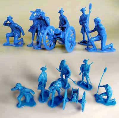 "LOD Enterprises LOD10 /""AWI British Regular Army/"" 54mm Plastic Toy Soldiers"
