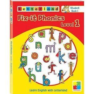 Actif Fix-it Phonics: Studentbook 1 Niveau 1: Apprendre L'anglais Avec Letterland By Wendon,-afficher Le Titre D'origine