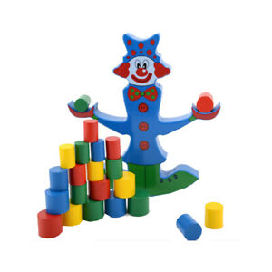 20Pcs Natural... Japace Wooden Stacking Toys Stones Montessori for Toddlers