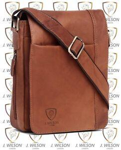 Mens-Leather-Shoulder-Bag-Designer-Ladies-Cross-body-Work-Messenger-College-Case