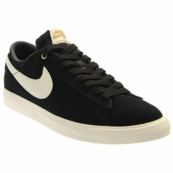 Nike BLAZER LOW GT Black Sail Casual Skateboarding Discounted Price reduction Men's Shoes