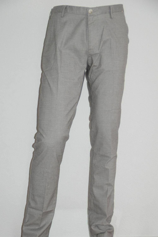 Hugo BOSS Pantaloni, mod. RICE 3-w, Tg. 58, slim fit, stretch, Open Beige