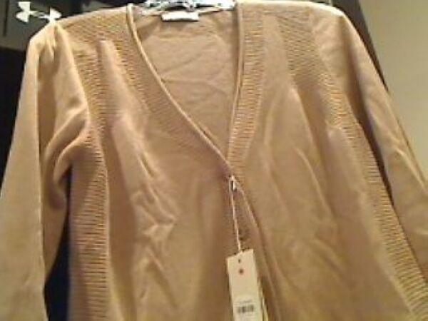 Faconnable Donna Donna Donna Cardigan Seta Cashmere Manica 3 4 Maglione Save sopra 60% 0cd7ae