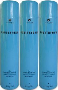 VIVANT-REVITAFOAM-125-ML-THE-CONDITIONING-MOUSSE-X-3