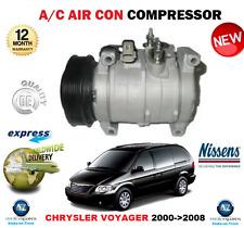 für Chrysler Voyager 2.5 2.8 CRD KLIMAANLAGEN KOMPRESSOR 2000- > 2008 Rg Rs