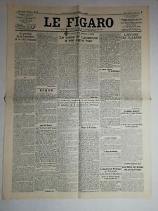 N1040-La-Une-Du-Journal-Le-Figaro-25-juillet-1923-pacte-traite-de-Lausanne