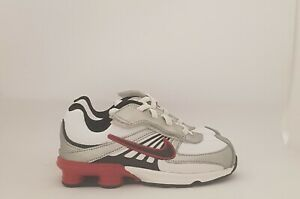 Nike-Shox-Turbo-Scarpa-Sneakers-Junior-Bianco-tg-var-33-OCCASIONE