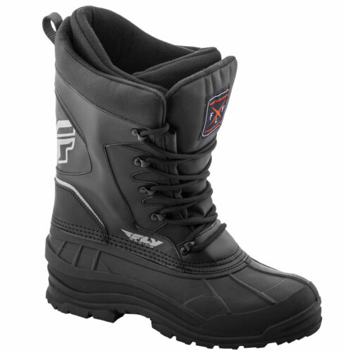 Fly Racing Snow Snowmobile AURORA Boots 12 Black