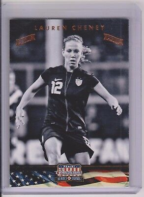 2012 Panini Americana Heroes /& Legends Bronze Proof #117 Stephanie Cox Card