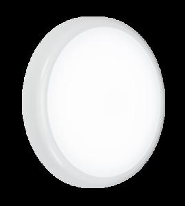 Knightsbridge 230V IP54 14W LED ajustable de CCT Mamparo De Emergencia Con Sensor