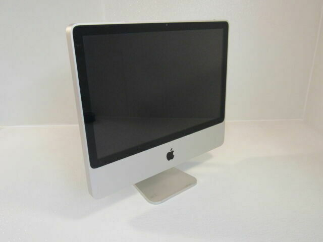 Apple Imac 7 1 20 Inch All In One Computer 500gb Hd 2ghz Intel Core 2 Duo A1224 For Sale Online Ebay