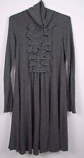 Moschino Teen Gray Turtleneck Dress; 13