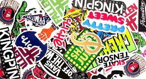 Assorted-Skateboard-Brands-5-Pack-Stickers-Assorted-FREE-POST-Skate-decal