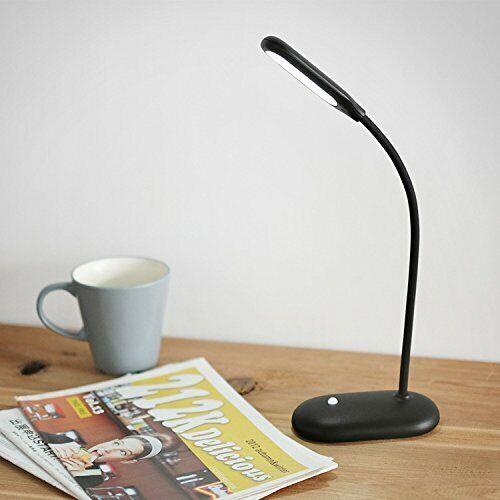 Protection Oculaire petite lampe de table muid Simple DEL rechargeable réglable 0.33 Noir
