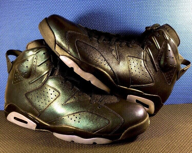 Nike Air STAR Jordan 6 Retro ALL STAR Air CHAMELEON GREEN BLACK 907961-015 Size 18 New DS 2d4374