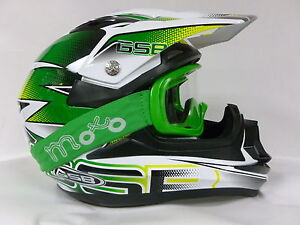 GSB-XP-14B-MOTOCROSS-QUAD-BIKE-OFF-ROAD-ACU-Casque-X1-Lunthes-Schuberth-Neuf