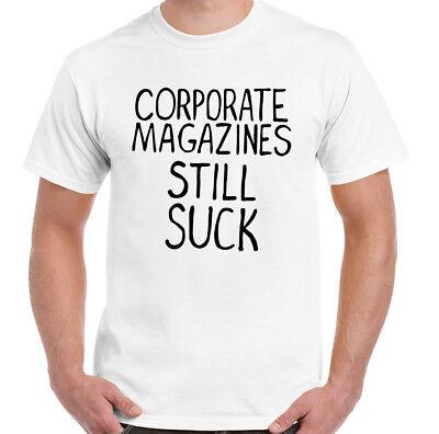 Comme Porté Par Kurt Cobain Corporate magazines encore Suck homme Nirvana T-Shirt