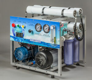 Details about Seawater Desalination 600GPD Watermaker Reverse Osmosis Boat  Yacht Marine Well