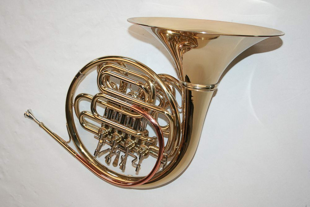 Double French Horn F   Bb, French horn detachable bell