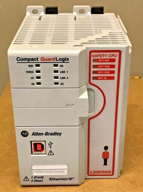 Allen Bradley 1769-L33ERMS /A 2017 GuardLogix 5370 ENet Controller