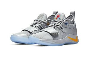 d0502f229b3 Nike PG 2.5 PlayStation Paul George PS4 Classic Wolf Grey size 9.5 ...