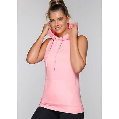 NEW Womens Lorna Jane Activewear   Cool Down Hooded Tank