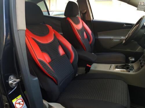 Sitzbezge Schonbezge fr Dodge Nitro schwarz-rot NO1760960 Set ...