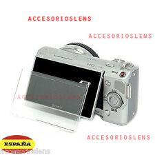 PROTECTOR DE PANTALLA DE PLASTICO para Sony NEX-3 NEX-5 NEX -5C PCK-LH1EM