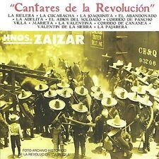 Cantares de La Revolución by Los Hermanos Zaizar (CD, May-2002, Peerless MCM)