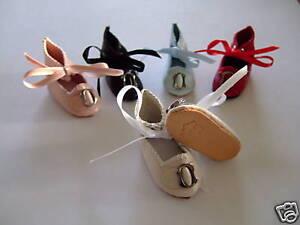 ZAPATOS-de-cuero-para-de-munecas-BLEUETTE-o-otro-DOLL-zapatos-4cm