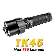 Fenix TK45 3x Cree XP-G R5 LED 760Lumens 8xAA Tactical Flashlight Torch