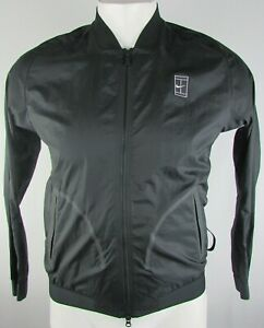 Details about Nike Men's Full Zip Dry Fit Long Sleeve Court Bomber Jacket MSRP: $160