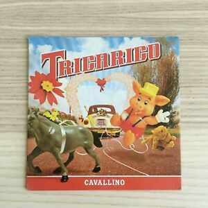 Tricarico-Cavallino-CD-Single-PROMO-2004-Universal-RARO