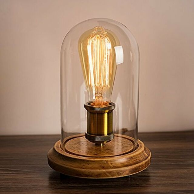 Surpars house vintage desk lamp glass shade table edison bulb vintage desk lamp glass shade table edison bulb included aloadofball Image collections