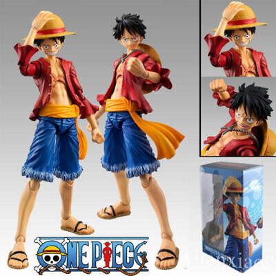 Anime Figma One Piece Straw Hat Monkey D Luffy PVC Action Figure Toy Figurine