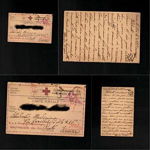 Cartolina-Prigionieri-di-guerra-I-Guerra-Mondiale-Mauthausen