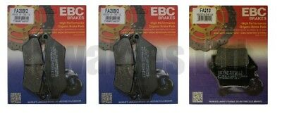 BMW F800GS F800 Adventure (K75) 2012-2018 Set of EBC Front and Rear Brake Pads