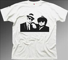 blues brothers bluesmobile film white cotton t-shirt 0535