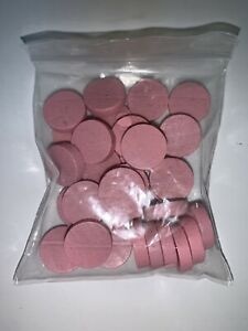 Fog-Of-Love-Game-35-PINK-PERSONALITY-TOKENS-ONLY-Replacement-Part-Pieces-Wooden