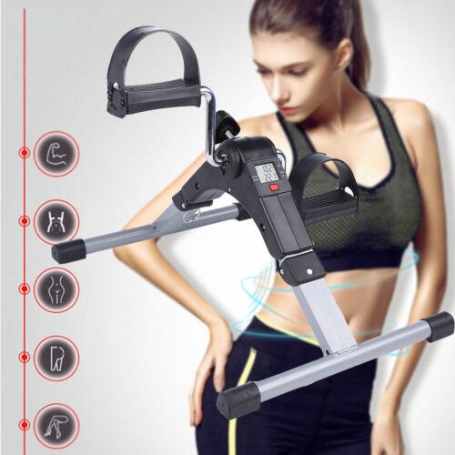 LCD hometraine hogar entrenador pedal entrenador fitnessbike pierna entrenador trimmrad plegable