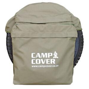Camp-Cover-Spare-Wheel-Rubbish-Bag-Khaki-Ripstop-Standard-CCM014-B