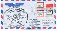 1983 McMurdo Station Squadron Six VXE-6 Deep Freeze Polar Arctic Cover SIGNED